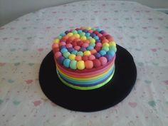 Rainbow Cake By Scrumptious Cakes Minehead