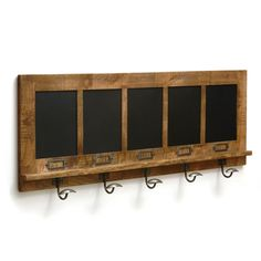 Earlham 5 Hook Coat Rack (A742) with Free Delivery   The Cotswold Company