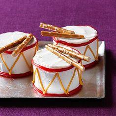 Mini Drum Cakes Recipe - Woman's Day