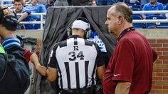 NFL Still Removing Confused Replacement Referees From Replay Booths | The Onion - America's Finest News Source