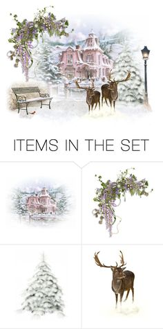 """The Visit"" by sjlew ❤ liked on Polyvore featuring art"
