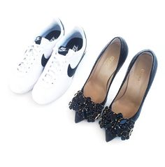 GEDEBE #shoes #embellished #black @massimobonini