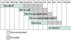 med school application timeline