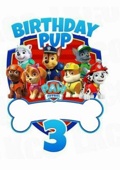 Paw patrol birthday shirt - Paw Patrol Iron On Transfer Bone Birthday Pup – Paw patrol birthday shirt Paw Patrol Shirt, Paw Patrol Pups, Paw Patrol Cake, Paw Patrol Party, Twin Birthday Parties, Birthday Boy Shirts, Boy Birthday, Paw Patrol Birthday Shirts, Imprimibles Paw Patrol