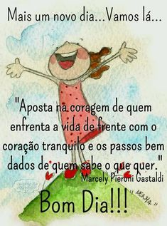 Bom dia.!... Good Afternoon, Good Morning Good Night, Day For Night, Gospel Quotes, Life Quotes, New Emoticons, Peace Love And Understanding, Send A Card, Simple Reminders