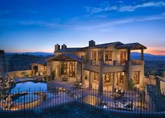 Custom southwestern ranch-style residence in Fountain Hills, Arizona