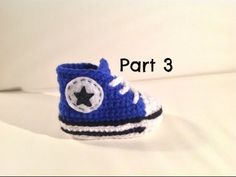 How to Crochet Converse Baby Booties - COOL IDEAS