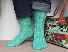 Ravelry: Footruffles pattern by Arella Seaton