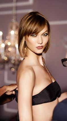 KarlieKloss for Victoria's Secret Lingerie. Karlie Kloss, Victoria Secret Lingerie, Victoria Secret Fashion Show, Hair And Makeup Tips, Hair Makeup, Shes Perfect, Thing 1, Hair Color Dark, Hair Shows