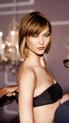 KarlieKloss for Victoria's Secret Lingerie.