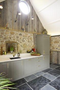 Unique open plan kitchen