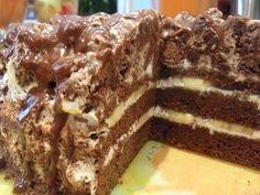 Лучшие кулинарные рецепты: Шоколадно-банановый торт