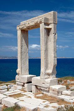 Apollo's Temple,Delos Island,  Greece.
