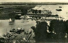 Kralingse Plas 1936, met strandbad.