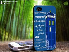 Christmas Tardis Police Box With Beautiful Quote by SidePucket, $15.89