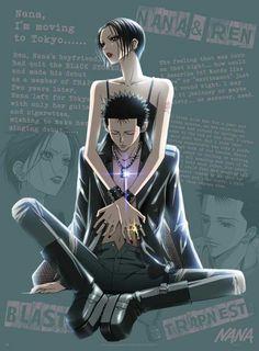 Poster Nana et Ren (52X38)