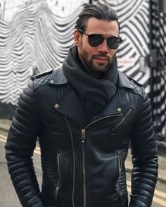 If I need the identity of hot bearded guy in black leather, he would be among those guys I would choose to disguise myself as.