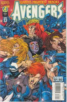 #MARVEL COMICS [] EARTH'S MIGHTIEST HEROES [] #AVENGERS [] http://marvel.wikia.com/wiki/Avengers_Vol_1_389 [] []