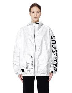 'Damascus' tyvek jacket by UEG — SVMoscow