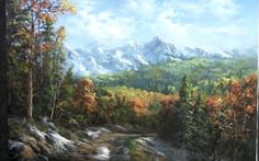 Have you ever wanted to paint a Valley with Autumn trees but can't seem to get enough depth in the painting? Watch as Kevin shows you how to create this colorful valley landscape with lots of detail and light. For more information about DVDs and brushes, go to www.paintwithkevin.com