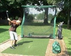 The Net Return Golf Net   Has To Be The Best Golf Practice Net Available.