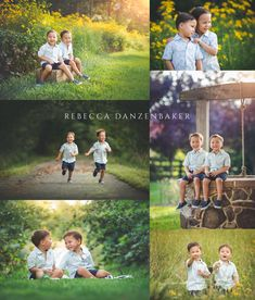 Three-year-old twin boys photo session by Rebecca Danzenbaker Willowsford family photographer in Ashburn VA. Twin Toddler Photography, Sibling Photography Poses, Sibling Photo Shoots, Boy Photo Shoot, Kids Photography Boys, Sibling Poses, Family Photography, Twin Pictures, Twin Photos