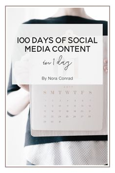 How I take one day every 3 months to schedule 100 days worth of social media posts. A complete guide to the tools I use, how I find and create content and how much it's grown my business in the last 6 months. Plus tutorial videos and resources to help you do it today.