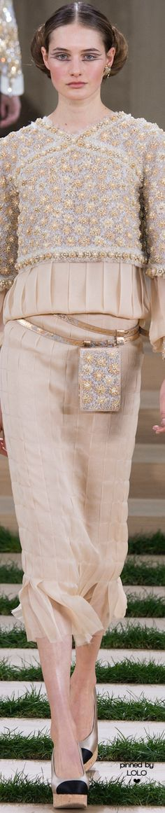 Chanel Spring 2016 Couture | LOLO❤︎