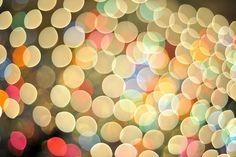 If light were confetti.