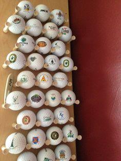 Golf ball display