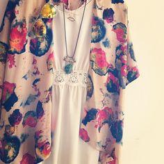 Kimono bohem chic style