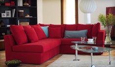Hablando de decoración moderna, el color rojo atrae muchas miradas. Tanto que hoy día es muy facti
