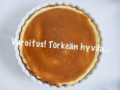 Tämän hetken lempikakku - Salted caramel cheesecake (Suolakinuskijuustokakku) -