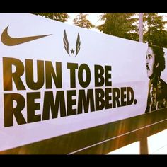 #run or play your sport to be remebered as the person that was good, never gave up, gave it all they had. #newperspective