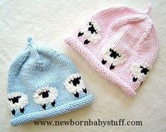 Baby Knitting Patterns Baby Knitting Patterns Avery beanie pattern by Martha Johnso...