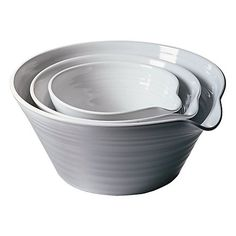 Simon Pearce Brookfield Nesting Bowls