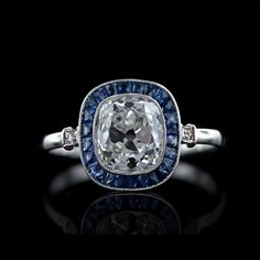 Stunning art deco diamond ring.