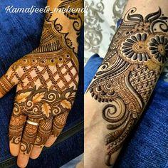 No photo description available. Mehndi Art, Henna Mehndi, Henna Art, Mehendi, Bridal Mehndi Designs, Henna Designs, Mahandi Design, Mehndi Images, Simple Henna