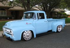 Ford Longbox Custom Pick-Up Truck◆ Vintage Pickup Trucks, Old Ford Trucks, Old Pickup, New Trucks, Custom Trucks, Custom Cars, Hot Rod Trucks, Cool Trucks, Cool Cars