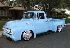 1956 F100 Longbox Custom Pick-Up.