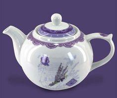 Lavender teapot - Vivre