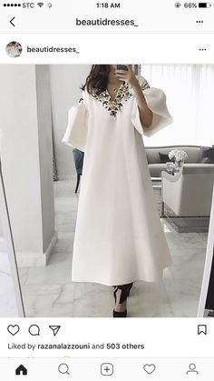 Christmas Sales Elegant Floral V-Neckline Maxi A-line Dress Christmas Gift online shopping mall, buying fashion dresses & rapid delivery. Start your amazing deals with big discounts! Arab Fashion, Muslim Fashion, Modest Fashion, African Fashion, Fashion Dresses, Hijab Styles, Vestidos Color Blanco, Floryday Vestidos, Latest Fashion For Women