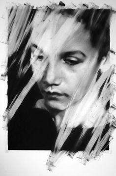 Unseen And Untitled Portraits Series by Valentin van der Meulen