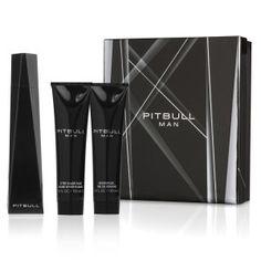 Pitbull Man by Pitbull 3.4oz 3pc Gift Set for Men EDT