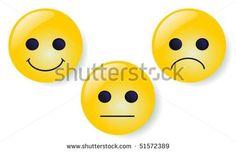 Smileys vector buttons