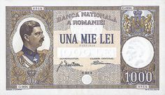 Bancnote Romanesti The Past, Stamp, Money, Paper Note, Banknote, Dan, Coins, March, Beautiful