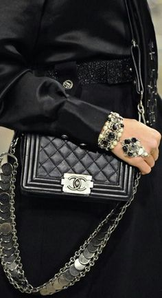 Chanel (i am crushing on the bracelet/ring)