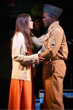 Violet (Sutton Foster and Joshua Henry)
