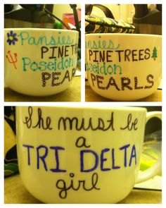 anchors, green, gold, and pearls .. alpha sigma tau <3