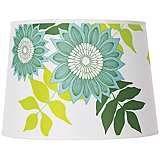London designer Camilla Meijer Green Anna Shade lamp made of recycled plastic. Has a silk twill feel. Wall Lamp Shades, Hanging Lamp Shade, Floor Lamp Shades, Contemporary Lamp Shades, Modern Lamp Shades, Shabby Chic Lamp Shades, Rustic Lamp Shades, Green Lamp Shade, Green Shades